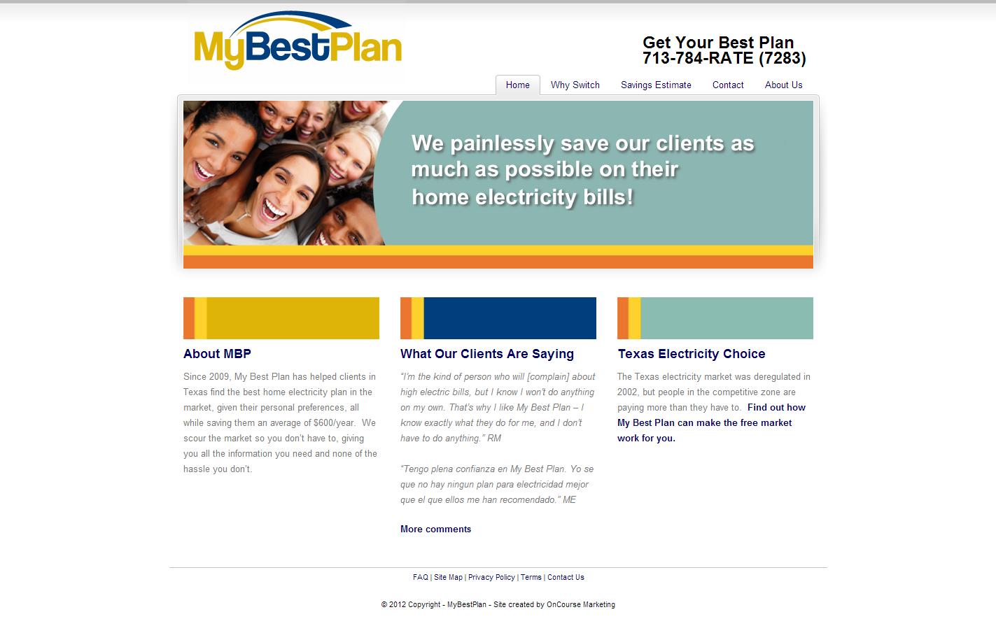My Best Plan LLC Screenshot